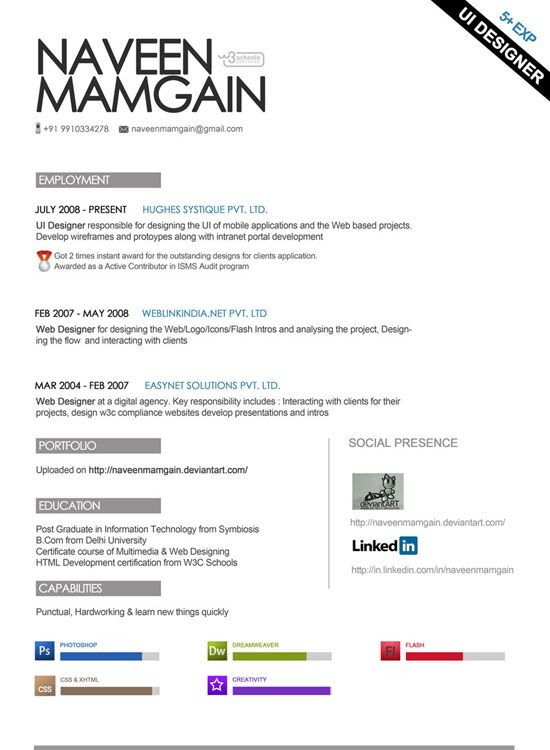 46 best CV _ Design images on Pinterest Resume design, Creative - soft copy of resume