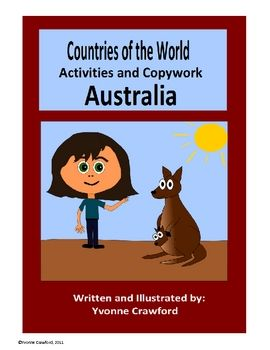This booklet focuses on the country of Australia.  Your students will learn facts about Australia while practicing their manuscript and cursive han...