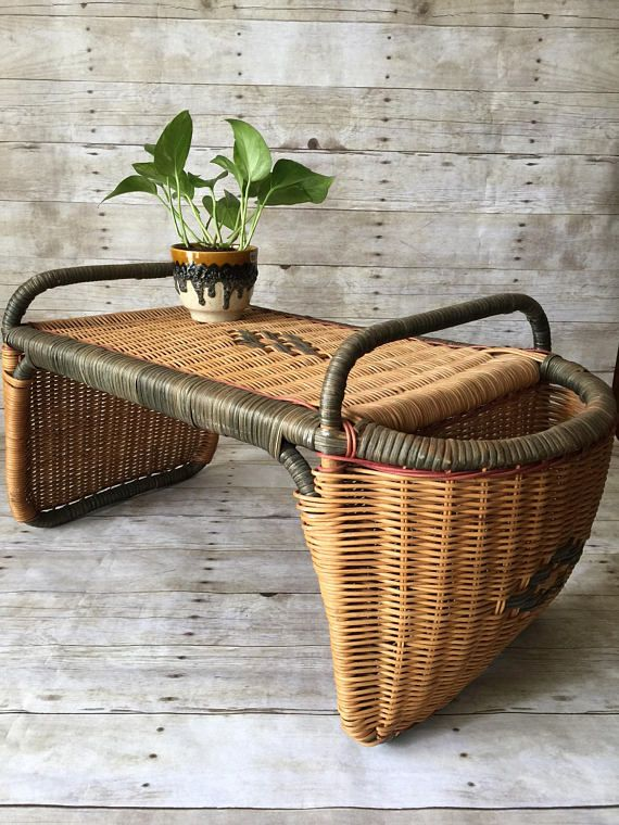 Vintage Wicker Bed Tray Table Bed Tray Diy Bed Tray Breakfast In Bed