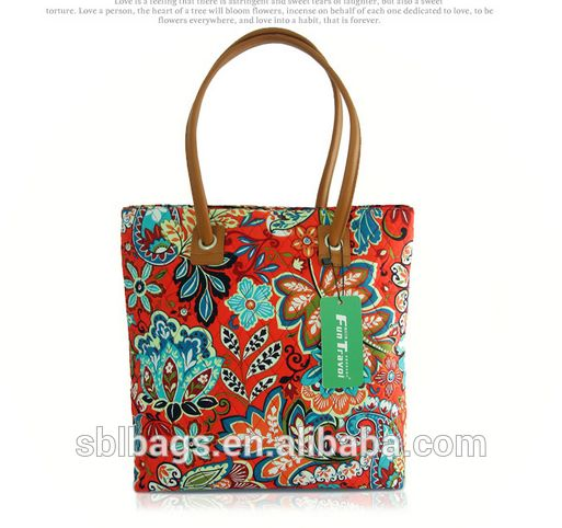 shopping tote bag& fashion cotton tote bag &printing cotton shopping bag, View printing cotton shopping bag, SBL Product Details from Shenzhen So-Bello Leather Products Factory on Alibaba.com