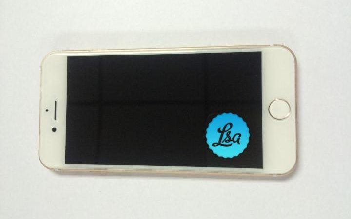 Alleged leaked picture of the front of the new iPhone, which looks identical to the current model