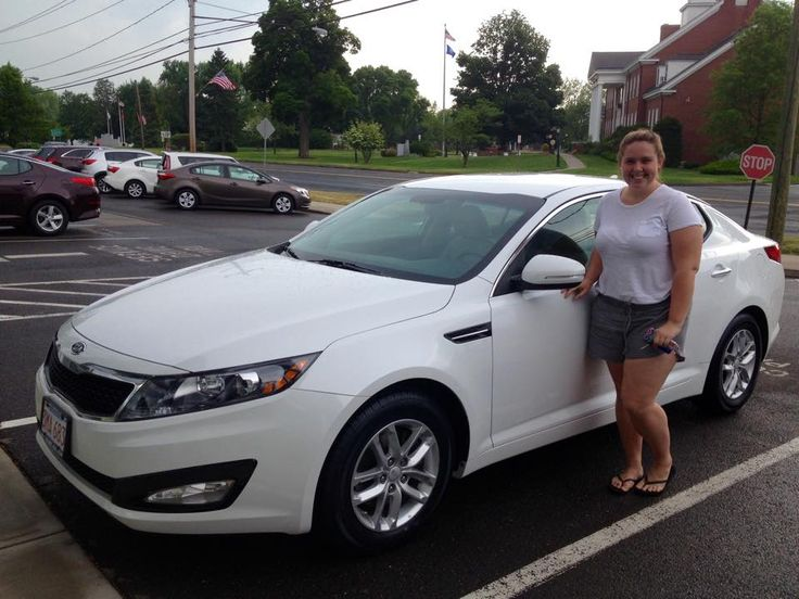 Logan Smith just picked up her 2012 Optima. We're glad that you're so happy! Congratulations from John and everyone at Gary Rome kia!