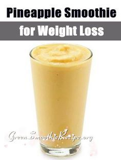 Pineapple Smoothie Recipe is a Weight Loss Smoothie from http://greensmoothierecipe.org/pineapple-smoothie-recipe-for-weight-loss/ #Pineapple #Smoothie #Recipe