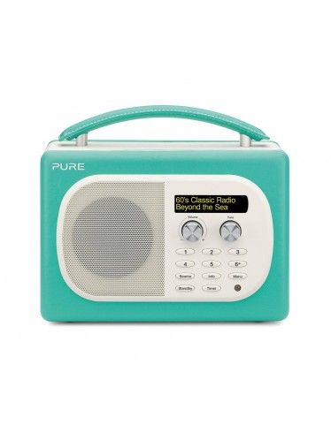 Pure Evoke Mio Portable DAB Digital/FM Radio - Seagrass - VL-61838