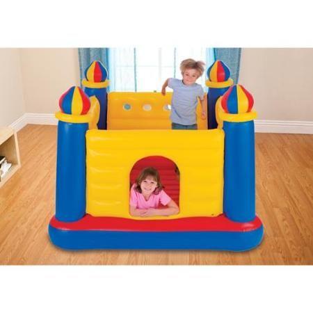 INTEX Inflatable Jump-O-Lene Ball Pit Castle Bouncer | 48259EP - Walmart.com