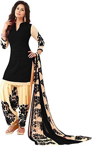 30eb25a32a Salwar Kameez Patiala New Indian Unstitched Dress Material Punjabi Ethnic  Wear #Handmade #SalwarKameez #PunjabiFestivalRegularPartyEvening