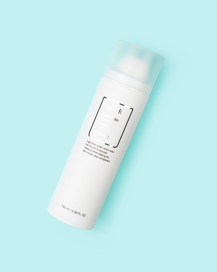 Light Fit Real Water Toner to Cream