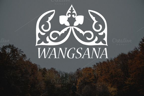 Wangsana Logo by Magoo Studio on Creative Market