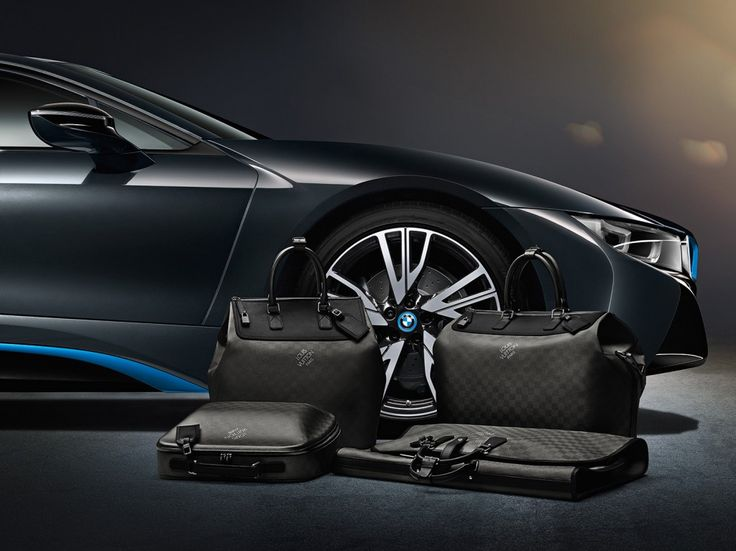 Louis Vuitton x BMW i8...I think I just died a little.  SEE IT HERE: http://smf-blog.com/louis-vuitton-luggage-bmw-i8/
