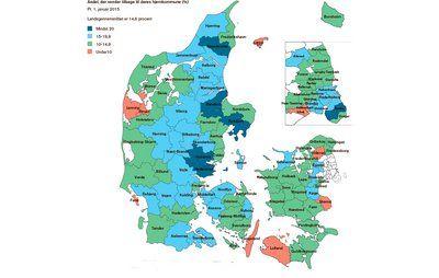 Tjek din kommune: Så mange flytter hjem til barndomsbyen