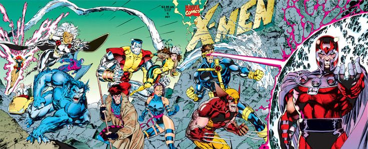A group of mutants have stolen a shuttle and are being pursued by some agents. Magneto arrives...
