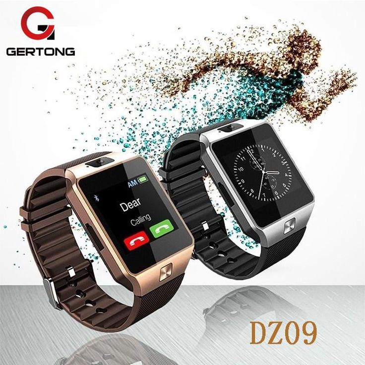 Smart Watch With Camera DZ09 Bluetooth Wearable Devices