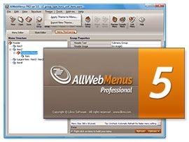 AllWebMenus is a web menu builder that requires absolutely no DHTML, CSS or Javascript experience from you.