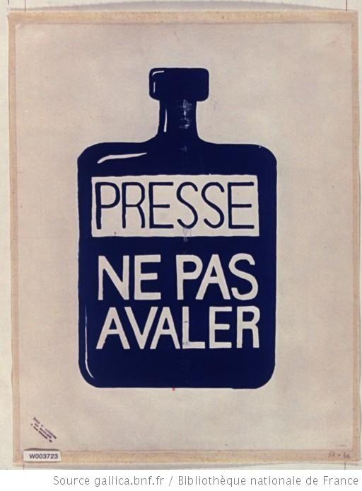 Presse, ne pas avaler, 1968