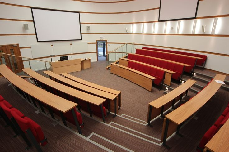 Harvard style lecture theatres | CPS Manufacturing Co. | ESI Interior Design