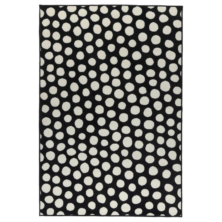 US Furniture and Home Furnishings Ikea rug, Polka dot