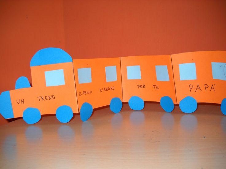 Un treno carico d' amore per papà