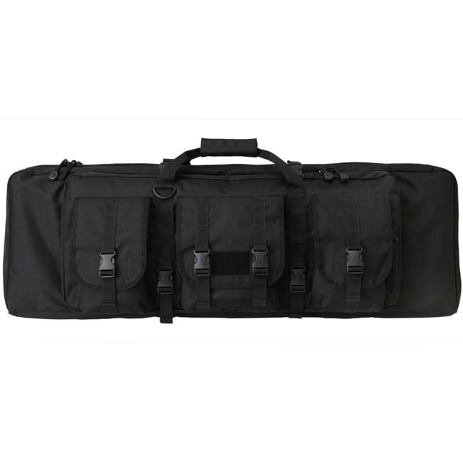 Uncle Mike's Rifle Assault Bag Deluxe 24-inch Tactical Gun Case