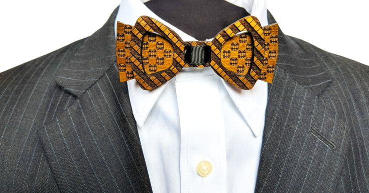 Stories live on in these wood bow ties, each handcrafted with wood from a historic building or place | Check out 'A Piece Of History - Wooden Bow Ties With A Twist' on Indiegogo.