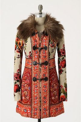 Love the Russian-inspired coats that Anthropologie  is featuring this winter. Many of these would be greatfor the holiday season and to a...