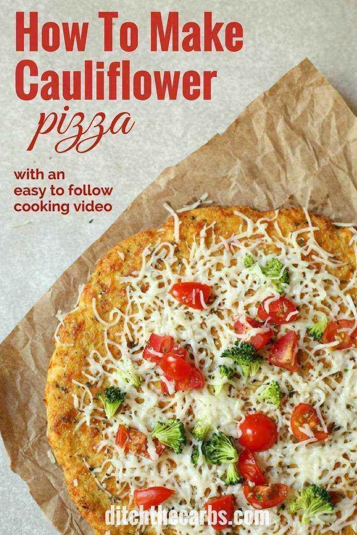 Blue apron cauliflower pizza - Cauliflower Pizza