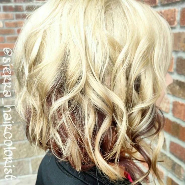 Blonde hair with paprika formula underneath - Hair Colors Ideas