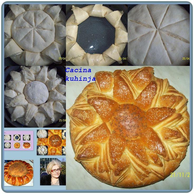 Recept: Cvet pogaca05