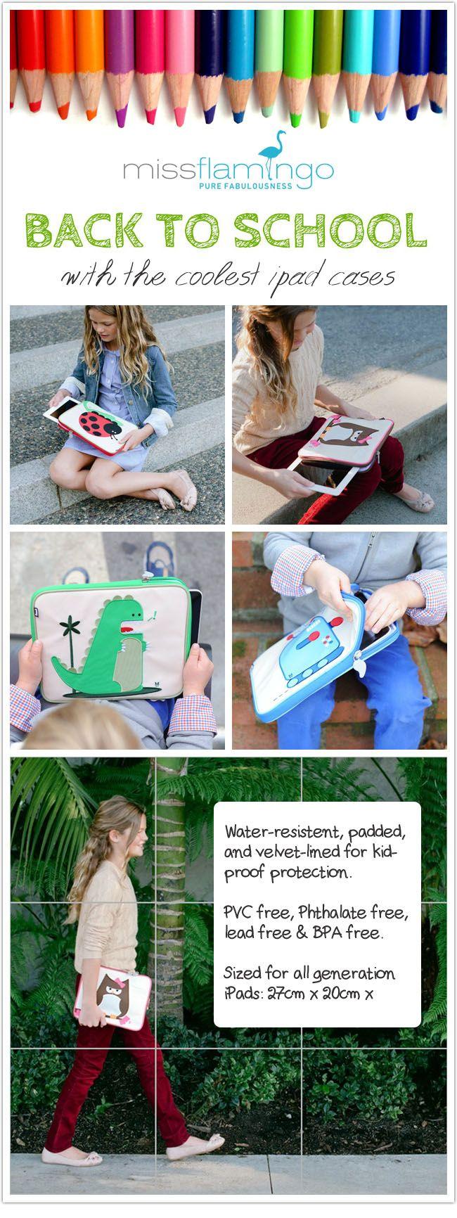Beatrix NY @ missflamingo.gr Back To School  iPad Case