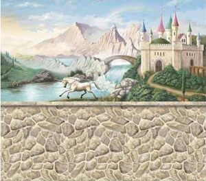 Castle Wall Mural 22 best kids murals images on pinterest | kids murals, wall murals