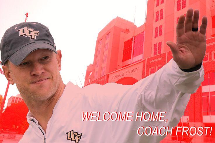 It's Official: Scott Frost, Head Coach of the Nebraska Cornhuskers