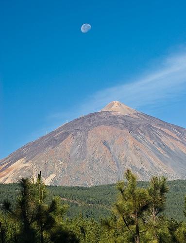 El Teide, volcán en la Isla de Tenerife, Islas Canarias, España.