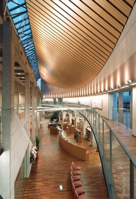 Tahara City Central Library, Japan   田原市中央図書館