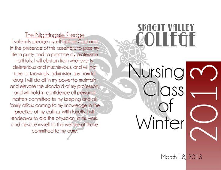 Nursing graduation program (You Want To) Make a Memory - graduation program