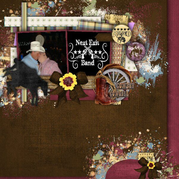 This layout was designed with Rodeo Kit and add ons by Country Style Designs. You can find it here http://www.countrystyledesigns.com/store/