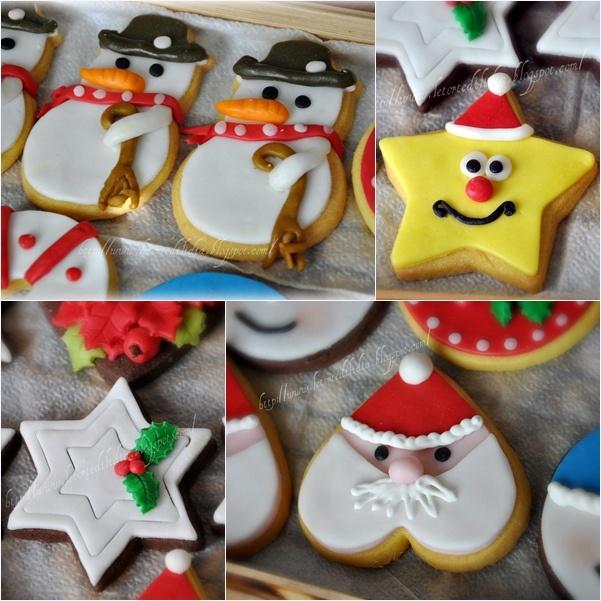 Biscotti decorati Per un dolce Natale by Il Dolce Mondo di Lidia, via Flickr