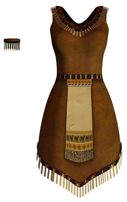 how to make native american clothing