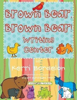 Writing center brown