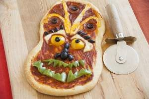 monster face pizza recipe recipes pinterest pizza. Black Bedroom Furniture Sets. Home Design Ideas