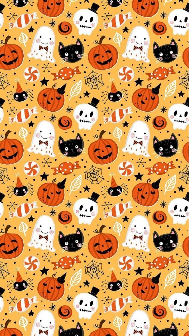 Halloween 2020 Parede Papel de Parede | Gato in 2020 | Halloween wallpaper, Halloween