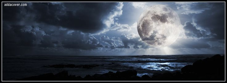 sun and moon timeline cover facebook | ... Free Moon ...