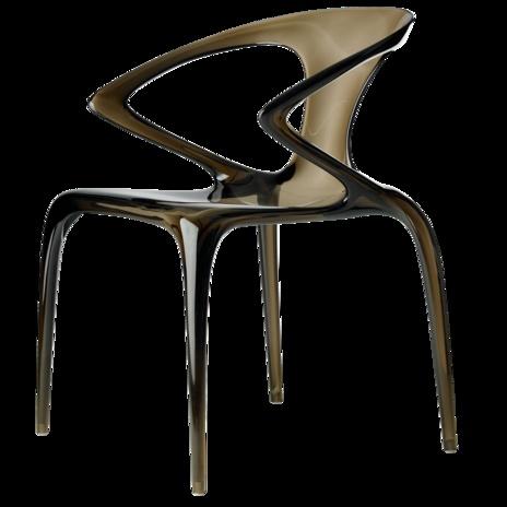 Roche Bobois polycarbonate AVA chair.