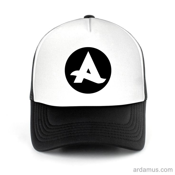 Afrojack Logo Trucker Hat for men or women. Available color black, red, pink, green. Shop more at ARDAMUS.COM #djtruckerhat #djcap #djsnapback #djhat