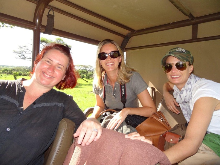 All smiles after a good morning out in the bush... #safari