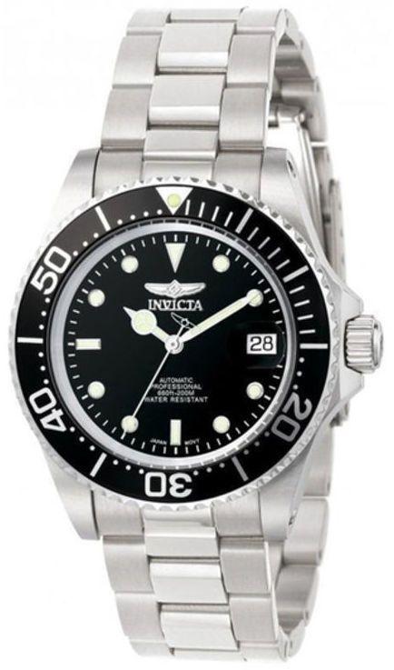 Zales Men's Invicta Pro Diver Automatic Watch with Black Dial (Model: 8926C)