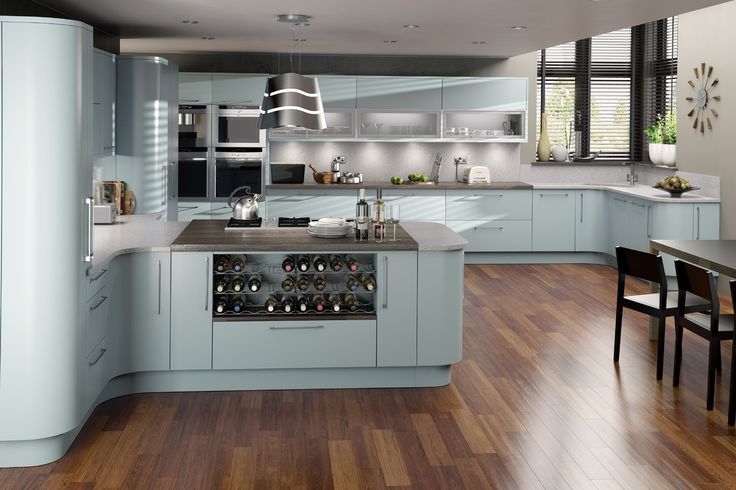 Wrens kitchens howden wrens kitchens pinterest wren for Duck egg blue kitchen units