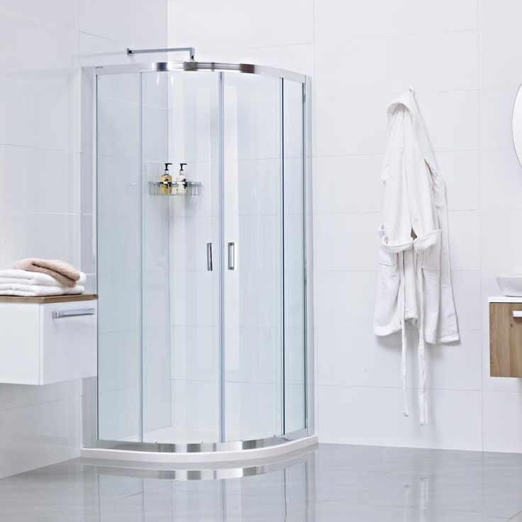 Best Quadrant Shower Enclosure Part - 30: The Lumin8 Two Door Quadrant Shower Enclosure --- Perfect For Making The  Most Out