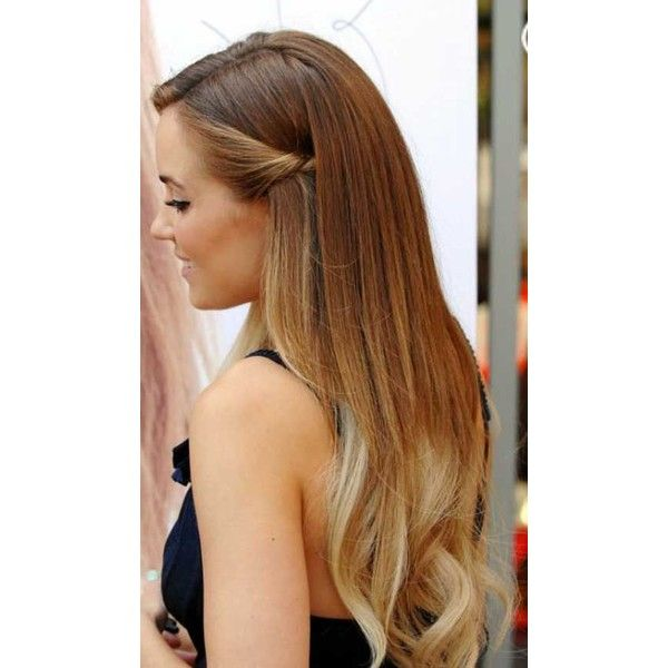 Half Up Hairstyles For Long Hair ❤ liked on Polyvore featuring beauty products, haircare and hair styling tools