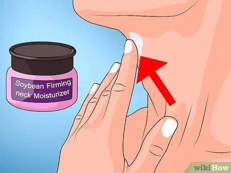 Enrigecer a pele flácida do pescoço