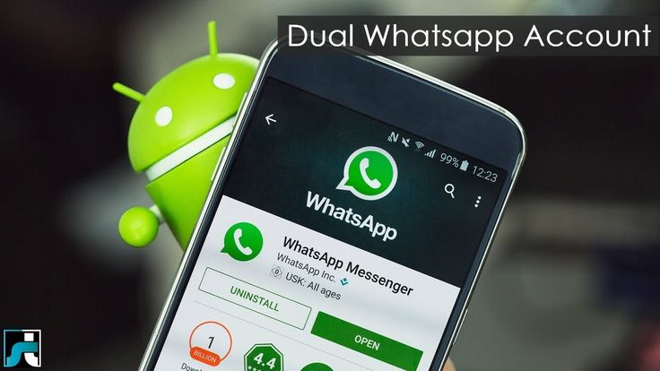 How To Use Dual Whatsapp Account In Single Android Phone - 2017