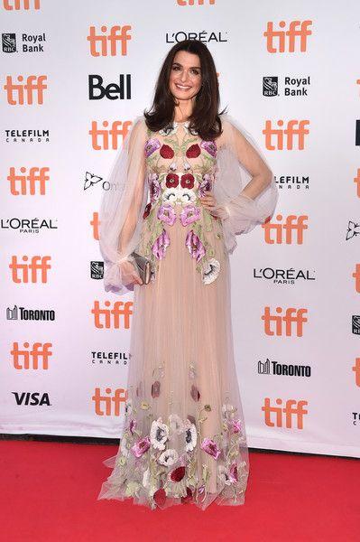 Rachel Weisz in Alexander McQueen at the 'Denial' Premiere - Best Dressed at the…